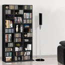 Artiss Adjustable Book Storage Shelf Rack Unit - Black