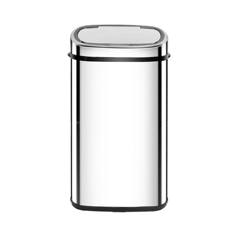 58L Stainless Steel Motion Sensor Rubbish Bin