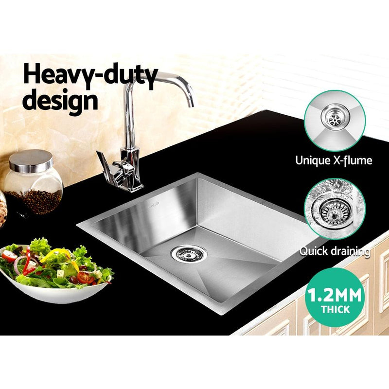 Cefito 390 x 450mm Stainless Steel Sink