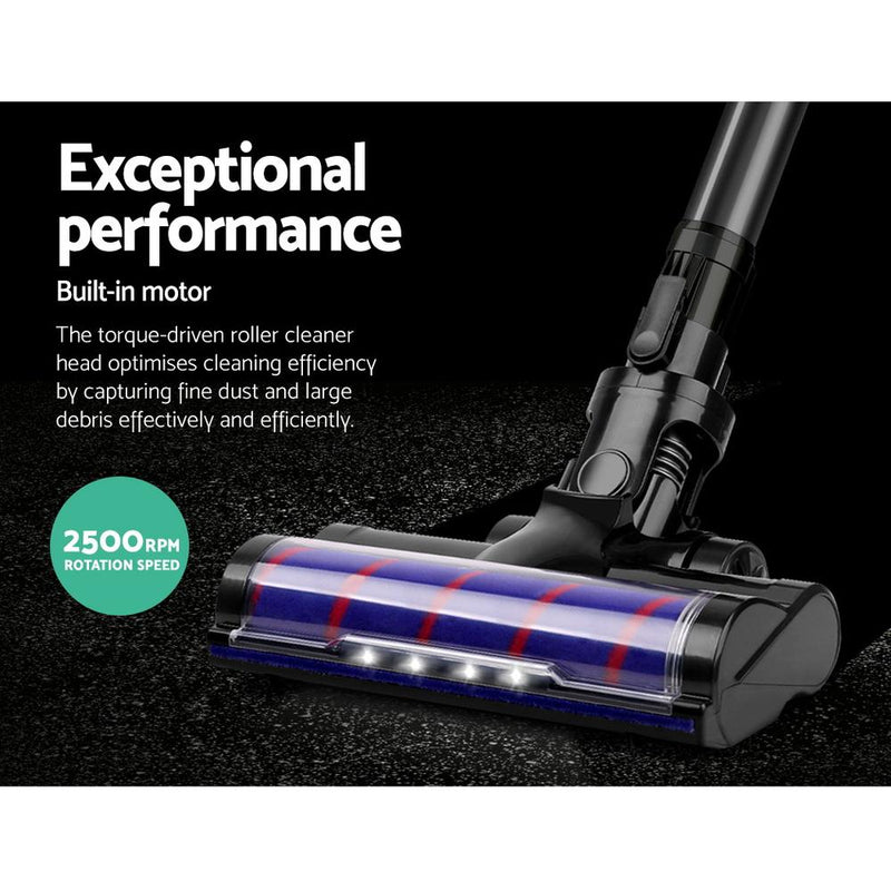 Devanti Cordless Handstick Vacuum Cleaner Head- Black