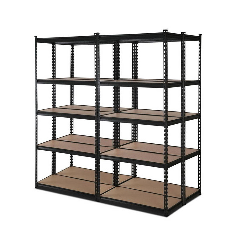4x0.7M Warehouse Shelving Racking Storage Garage Steel Metal Shelves Rack