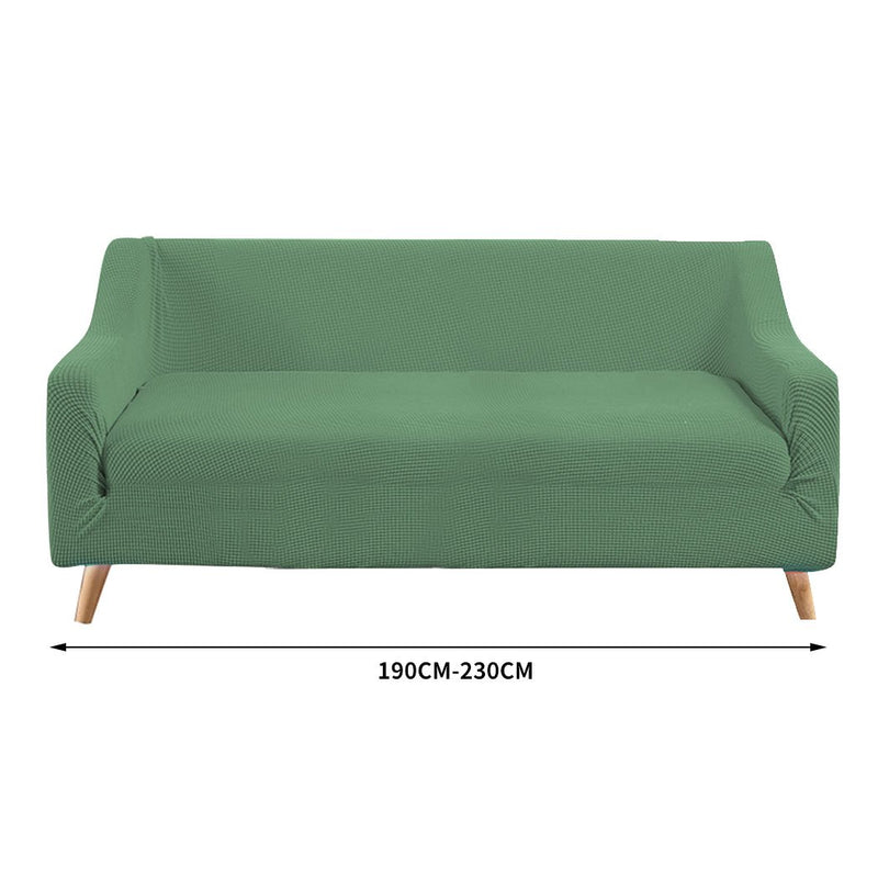 Couch Stretch Sofa Lounge Cover Protector Slipcover 3 Seater Cyan