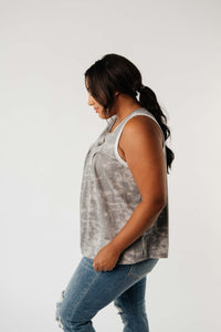 Cloudy Day Tie Dye Top