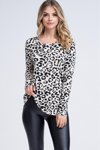 Living on the Edge Back Cutout Top