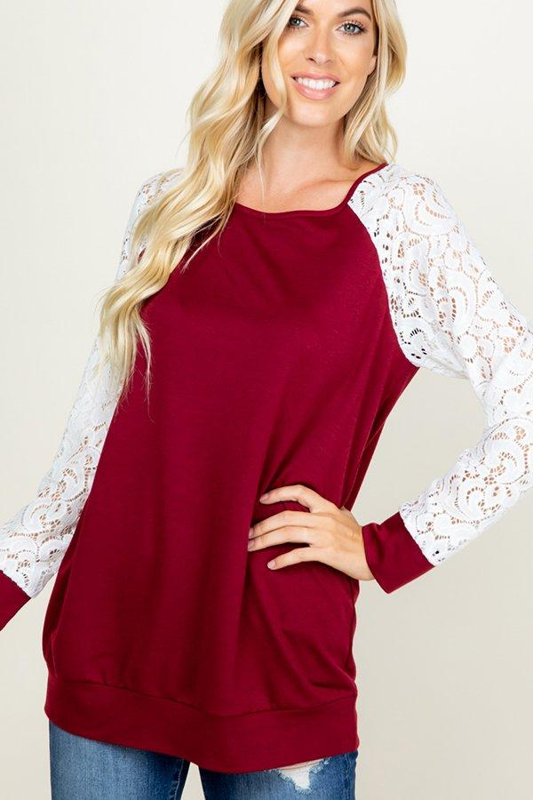 Redefined Lace Top