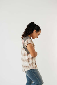 Texas Rose Tie Dye Top