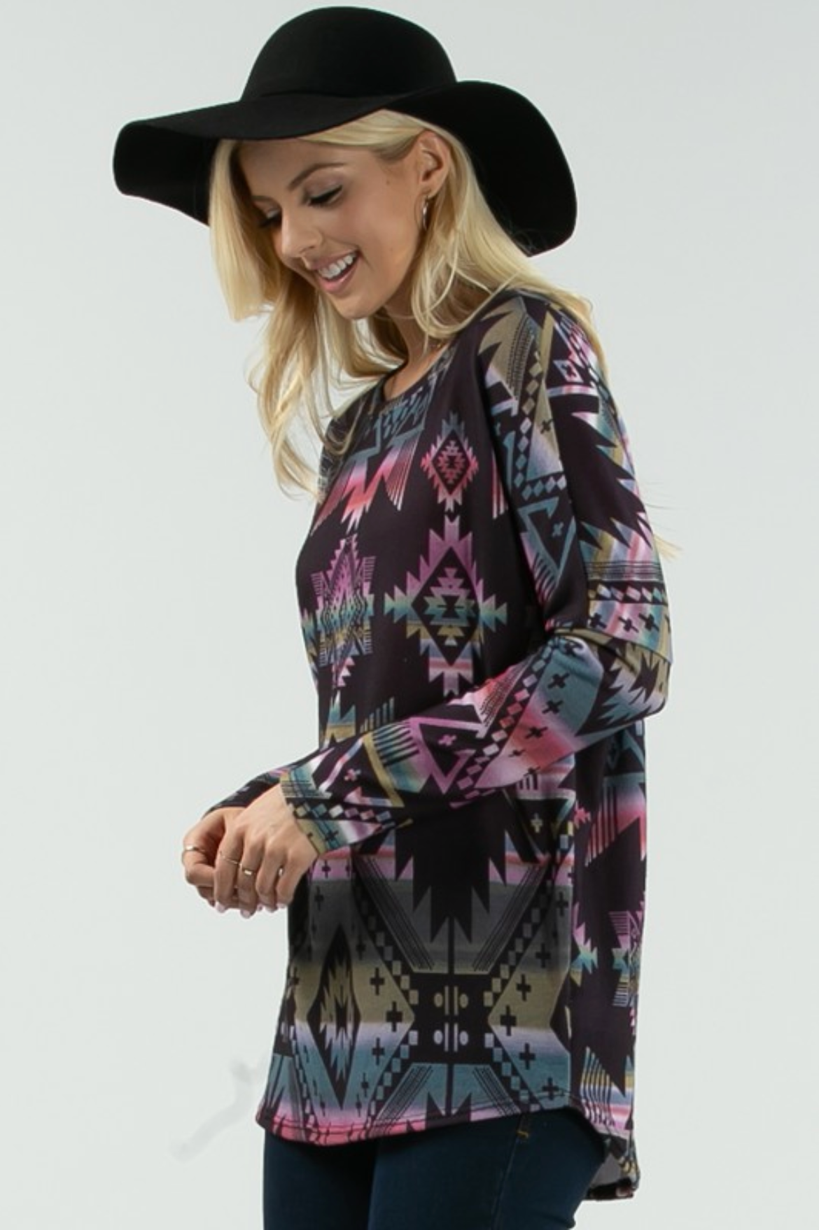 The Nikki Aztec Sweater