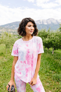 Cozy Quarantine Tie Dye Top