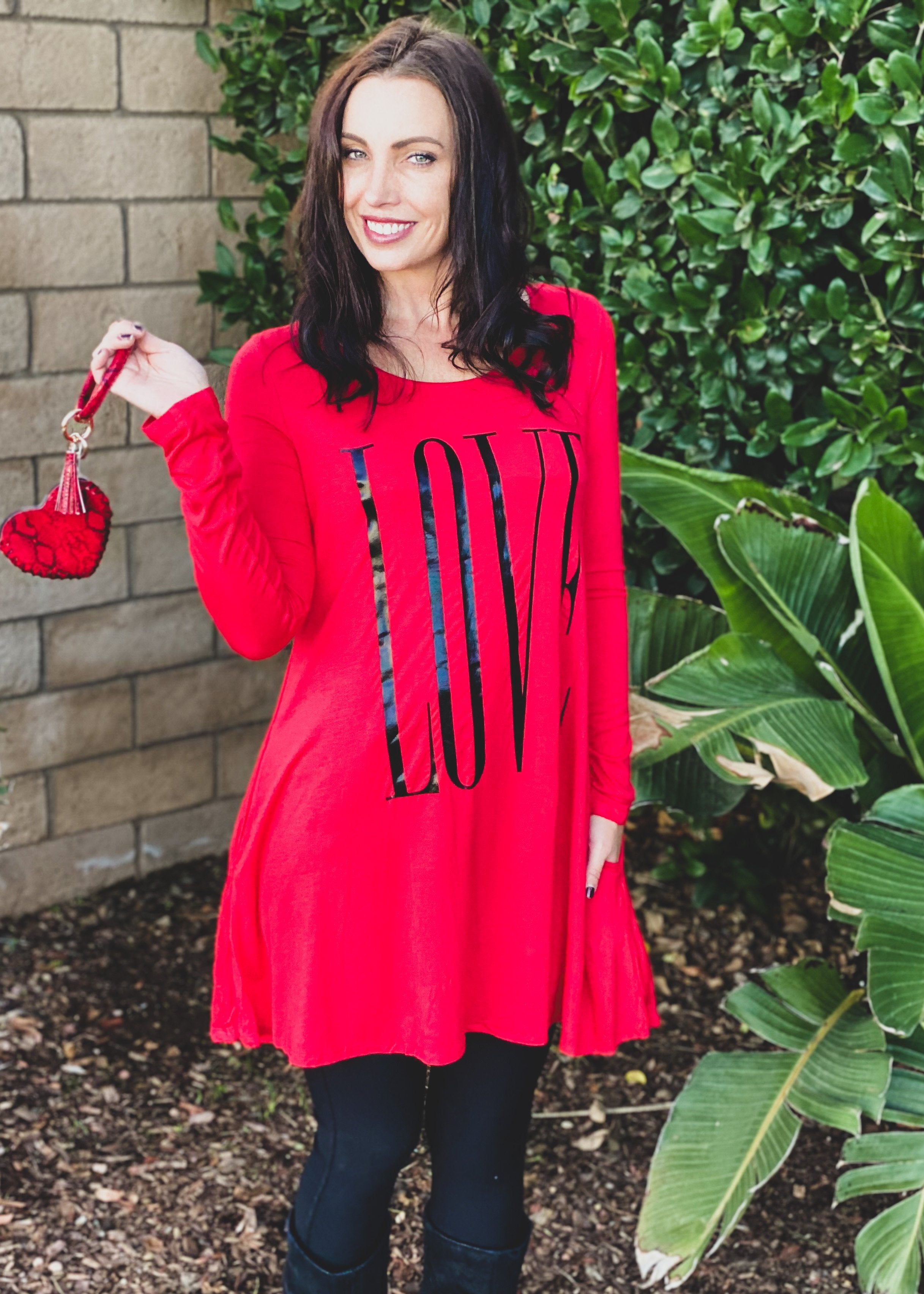 Just a Little Thing Called Love Swing Tunic