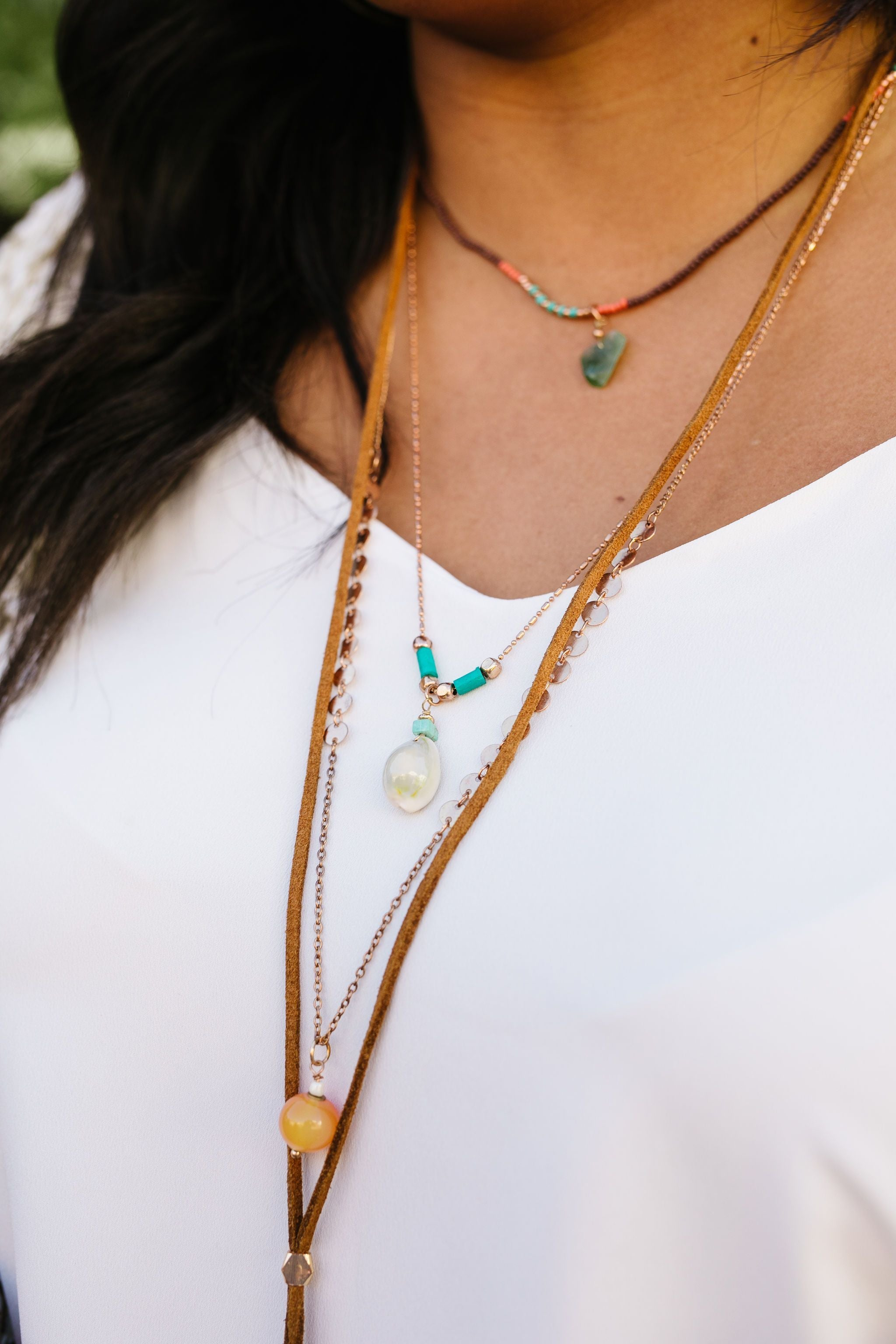 Make A Statement Multi-Strand Necklace