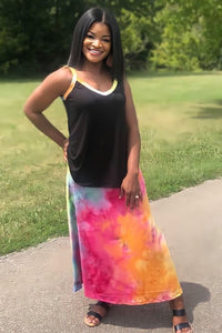 Rainbow Bliss Maxi Lounge Set