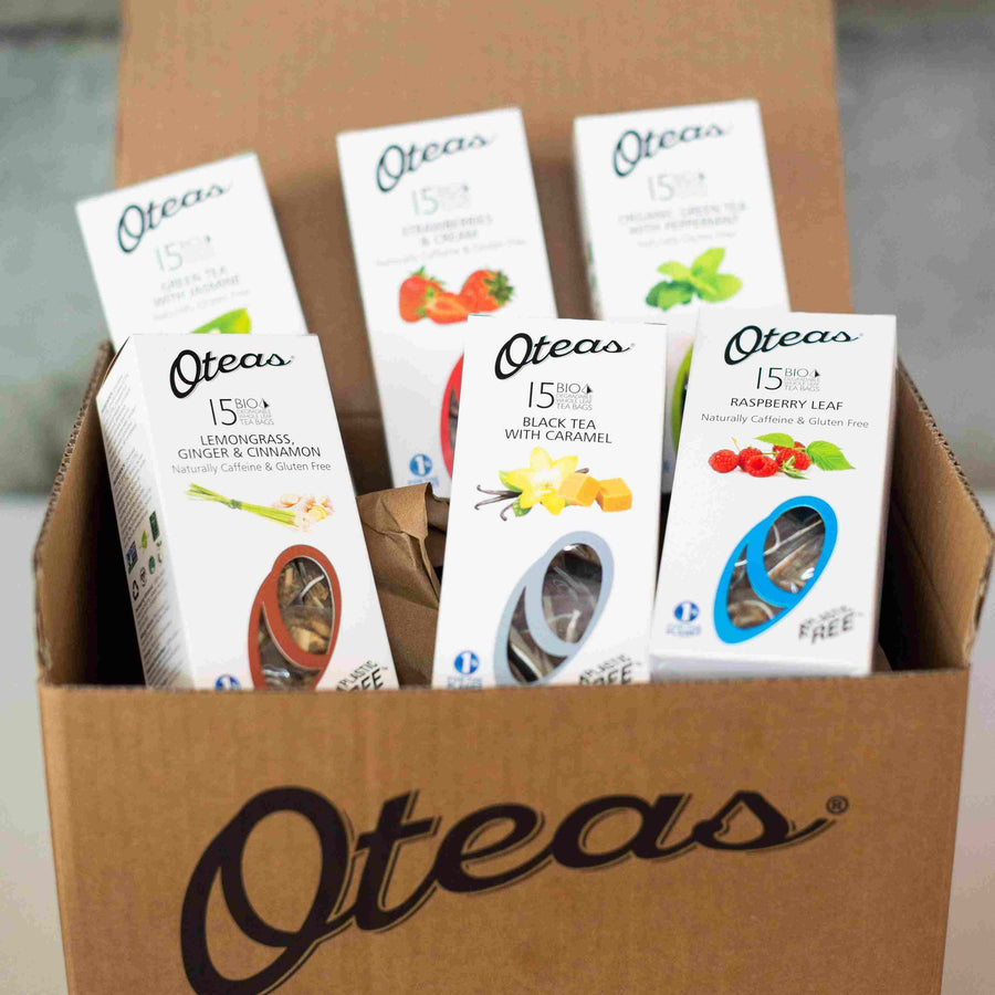 Oteas Pick you top 6 Flavours and Save