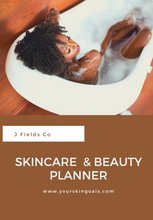 Load image into Gallery viewer, Skincare & Beauty Planner