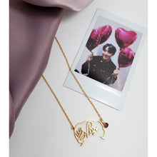 Load image into Gallery viewer, BTS Necklace Signature - Jung Hoseok Signature