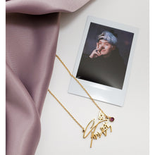Load image into Gallery viewer, Min Yoongi Necklace - BTS Signature Necklace