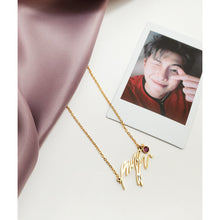 Load image into Gallery viewer, Kim Namjoon Necklace - BTS Necklace Signature