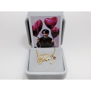 BTS Necklace Signature - Jung Hoseok Signature