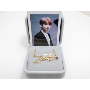 Jeon Jungkook Signature - BTS Necklace Signature