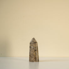 Load image into Gallery viewer, tourmalinated quartz polished point - yahra