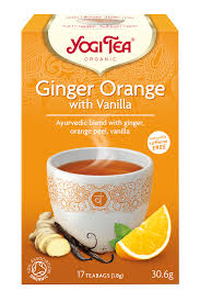 ginger orange with vanilla - yahra