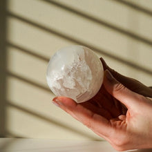 Load image into Gallery viewer, selenite sphere - yahra