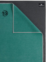 Load image into Gallery viewer, yoga mat grip dot towel | teal - yahra