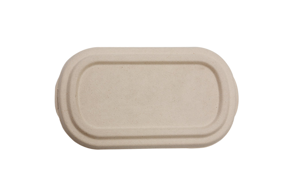Green Choice Sugar Cane - Food Box Lid for 850ml