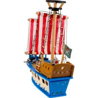 Houten piratenschip -Small Foot
