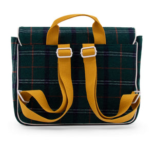 School bag wanderer forest green -Sticky Lemon