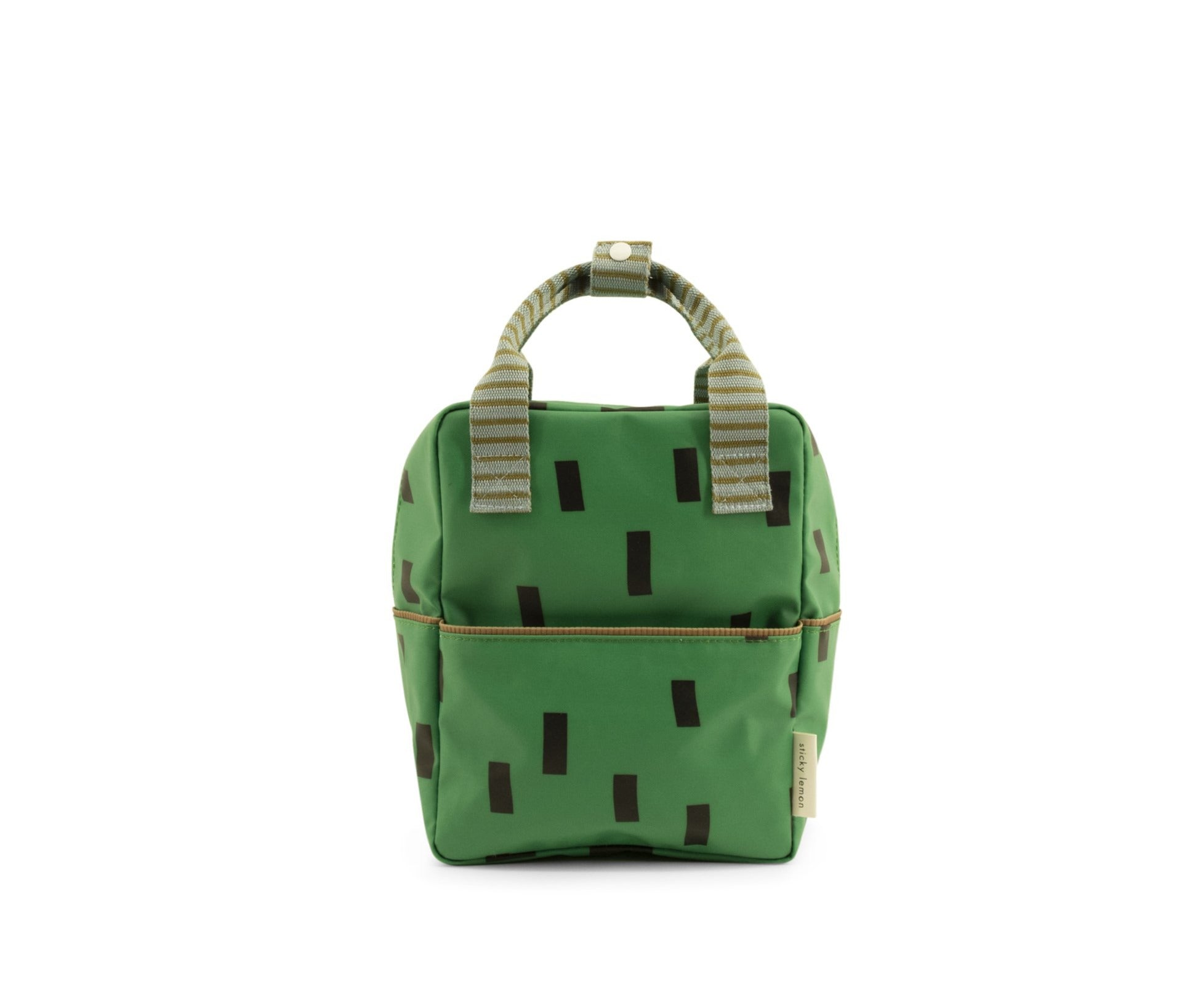 Backpack small | sprinkles special edition apple green + steel blue + brassy green-Sticky Lemon