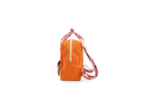 Backpack small sprinkles envelope carrot orange + bubbly pink + syrup brown-Sticky Lemon