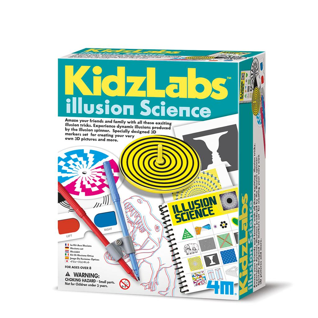 ILLUSION SCIENCE, - kidzlabs 4M