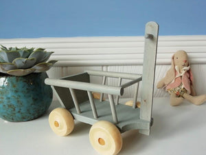 Wagon, mint - Maileg