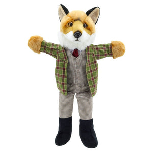 Fox -Hand puppet - The puppet company