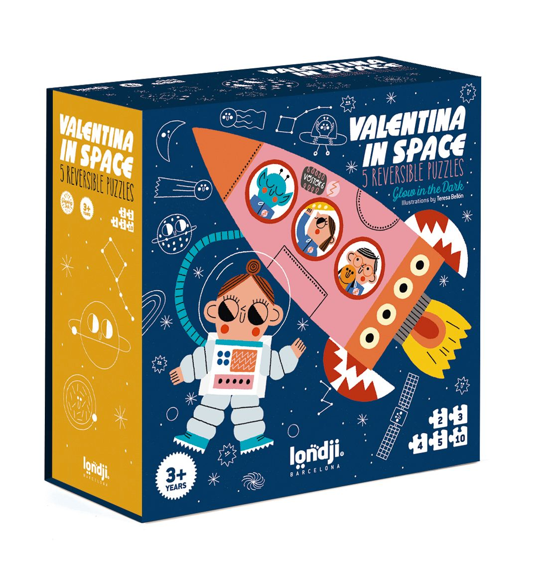 Puzzel Valentina in space, - Londji