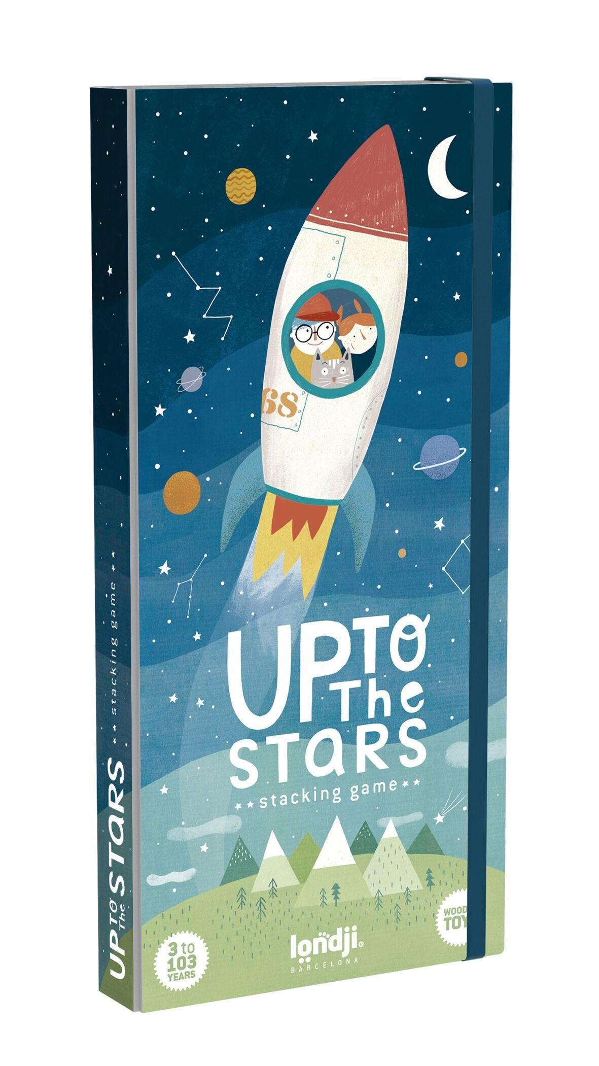 Spel, hout, Up to the stars - Londji