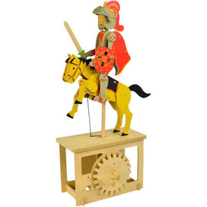 Red Knight, Wooden automata - Go Model shop