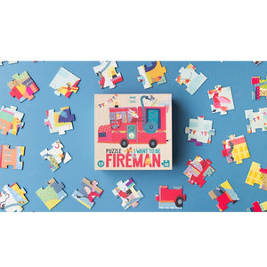 I want to be ... Fireman Puzzle-Londji