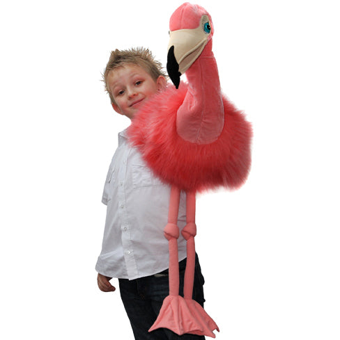 Flamingo -  Giant Handpuppet - The puppet Company