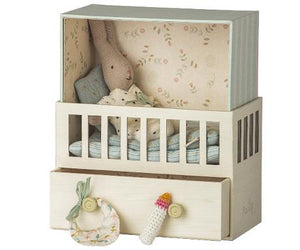 Baby room with Micro rabbit - Maileg