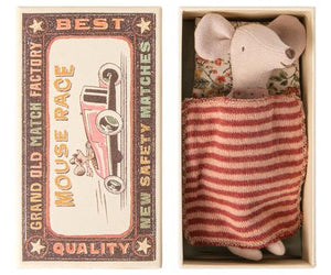 Big sister mouse in matchbox - Maileg