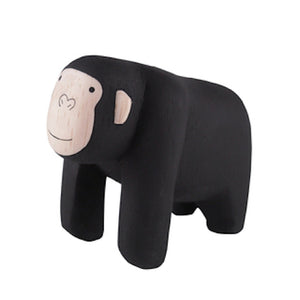 Pole pole wooden animal Gorilla - - T Lab