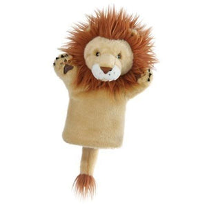 Lion,  glove -Hand puppet - The puppet company