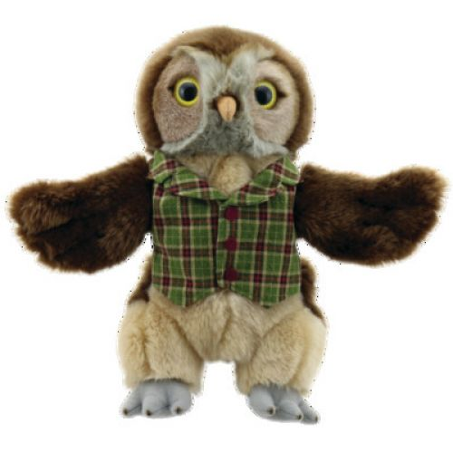 Owl - Dressed Animals - The puppet Company