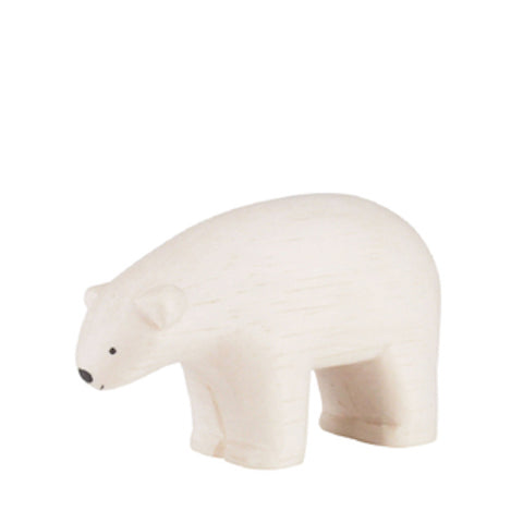 Pole pole wooden animal Polar Bear - T Lab