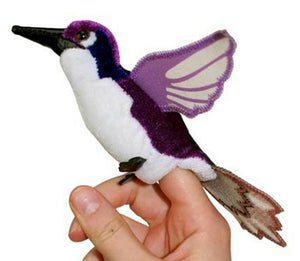 Hummingbird - finger puppet - The puppet company