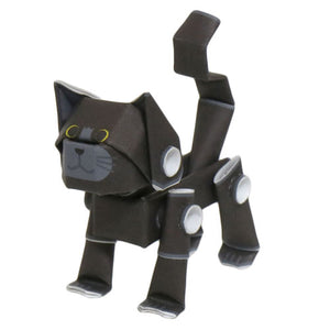 black cat piperoid animals