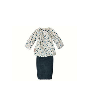 Ginger  Mum, skirt and tunic - Maileg