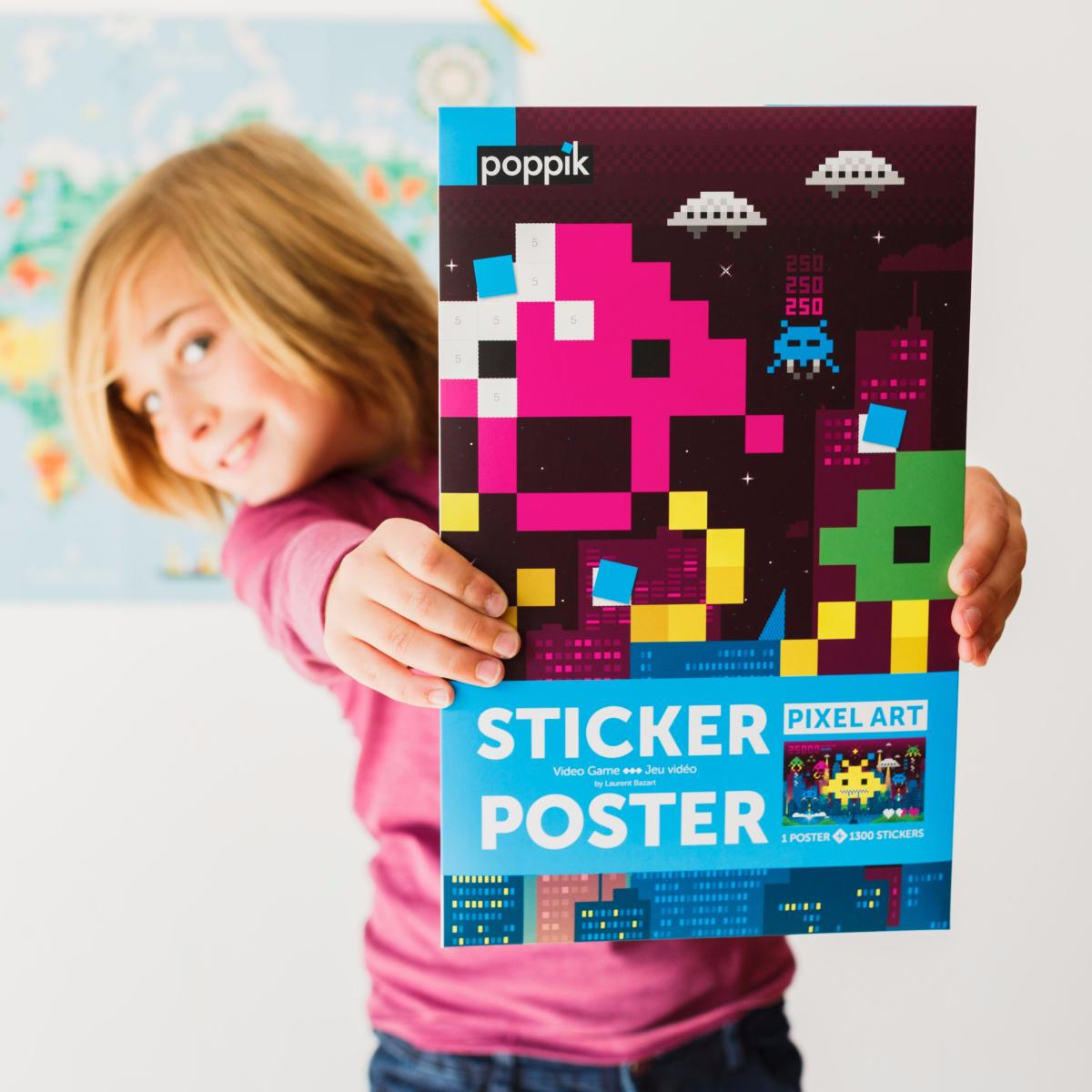 Stickers Video game - Poppik