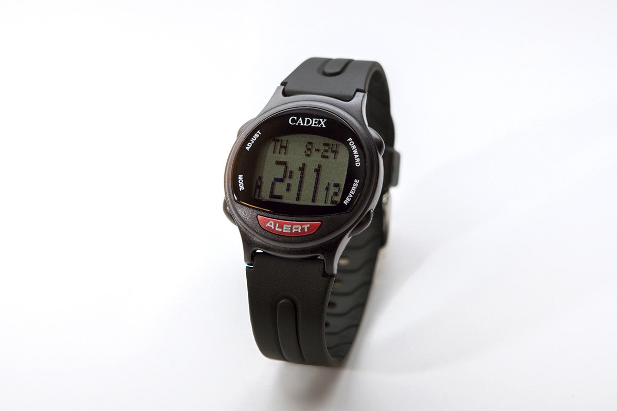 CADEX Medical ID Bracelet and Alarm Watch Black